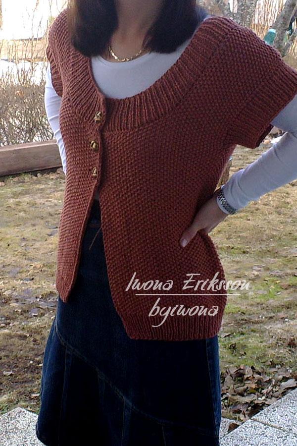 Sweter cynamon