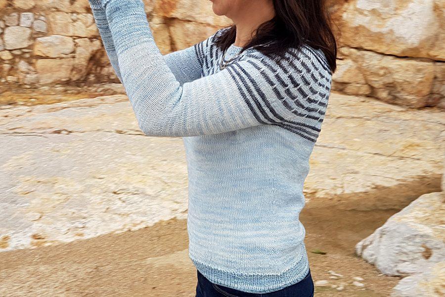 sweter piasek