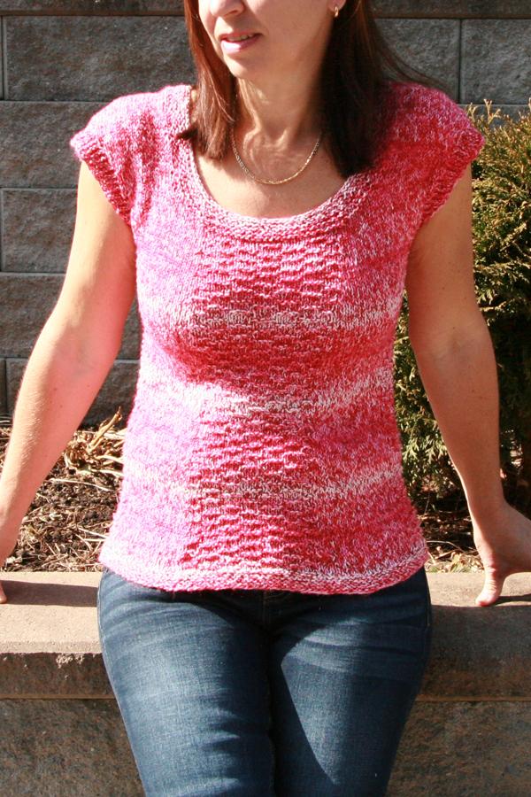 Bluzka na lato na drutach