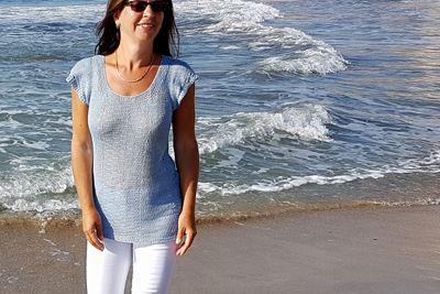 Letnia bluzka na drutach Looking for the summer