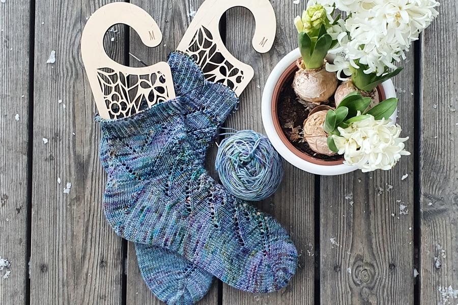 Skarpety z piętą Fleegle heel